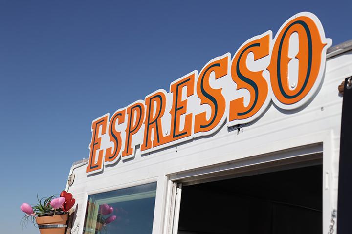Espresso outdoor business signage in Jacksonville, FL