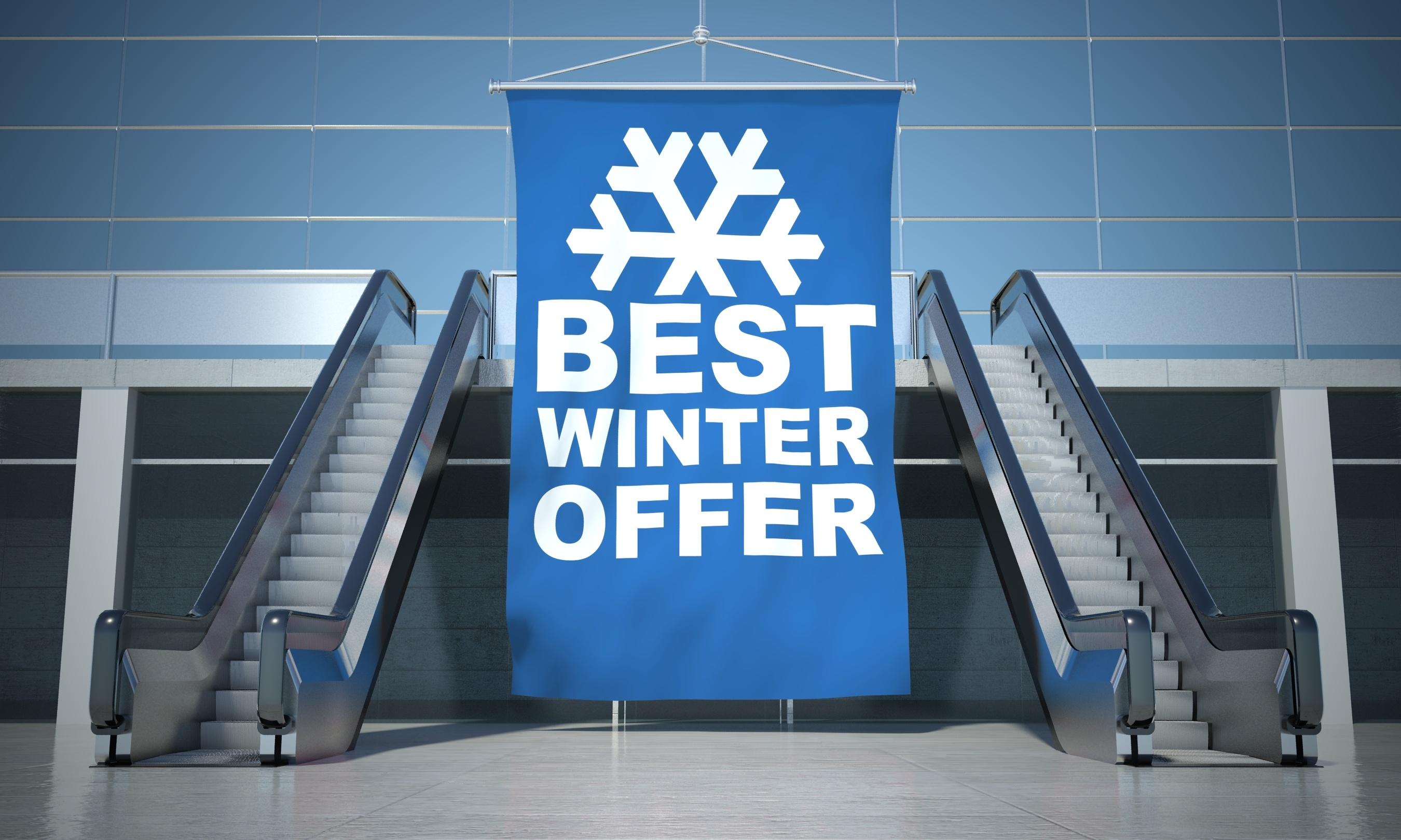 Custom vinyl banner signage for promotion