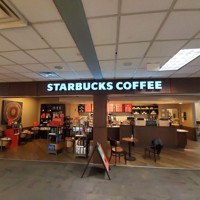 Starbucks exterior LED signs in Jacksonville, FL