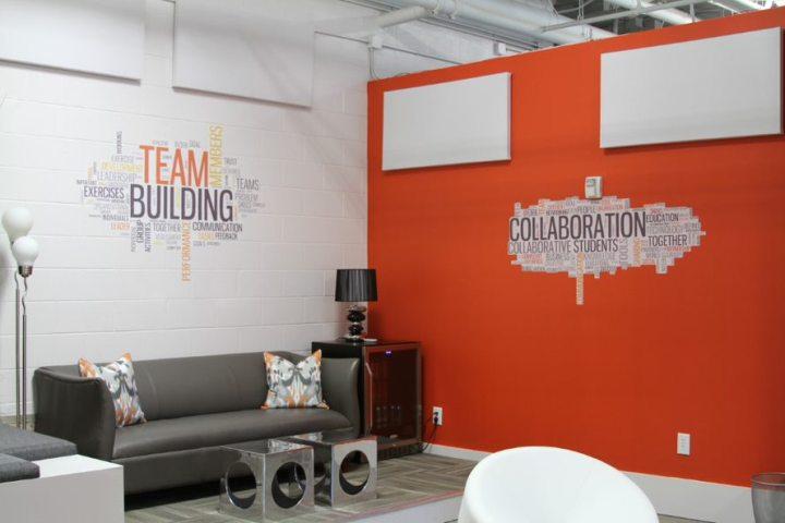 Motivational wall murals for business