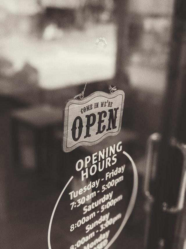 Business door signs in Jacksonville, FL